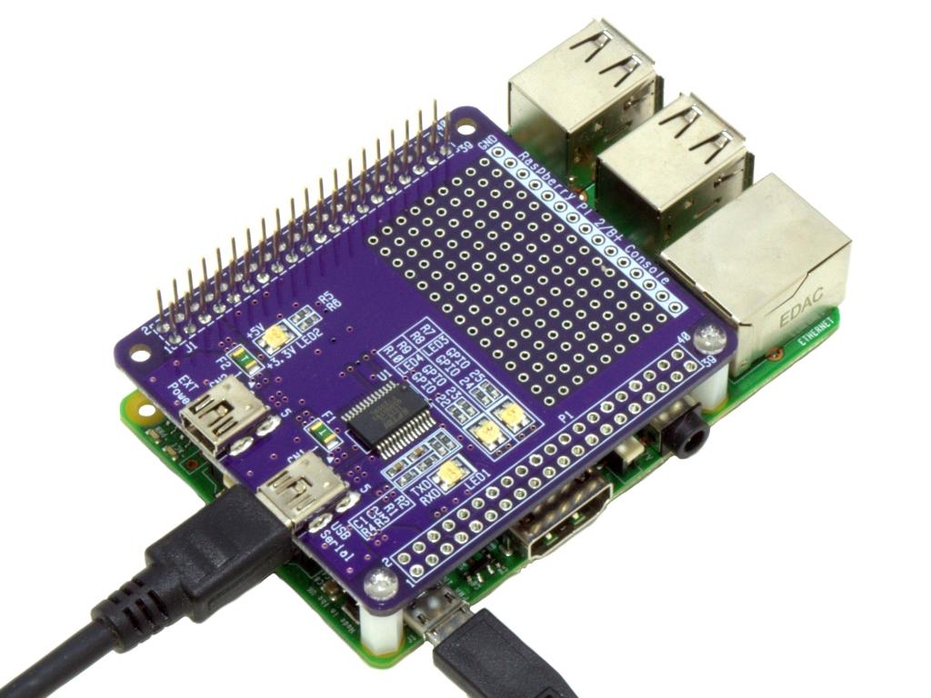 Raspberry Pi Console Board